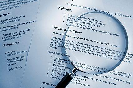 resume regarding job