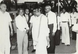 VISIT OF Dr. A.P.J ABDUL KALAM IN 1981 WHILE HE WAS IN ISRO 1