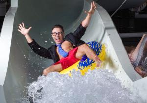 Resort-waterslide-tester